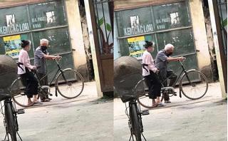 Câu chuyện về hai ông bà và chiếc xe đạp trước ngõ khiến nhiều người xuýt xoa