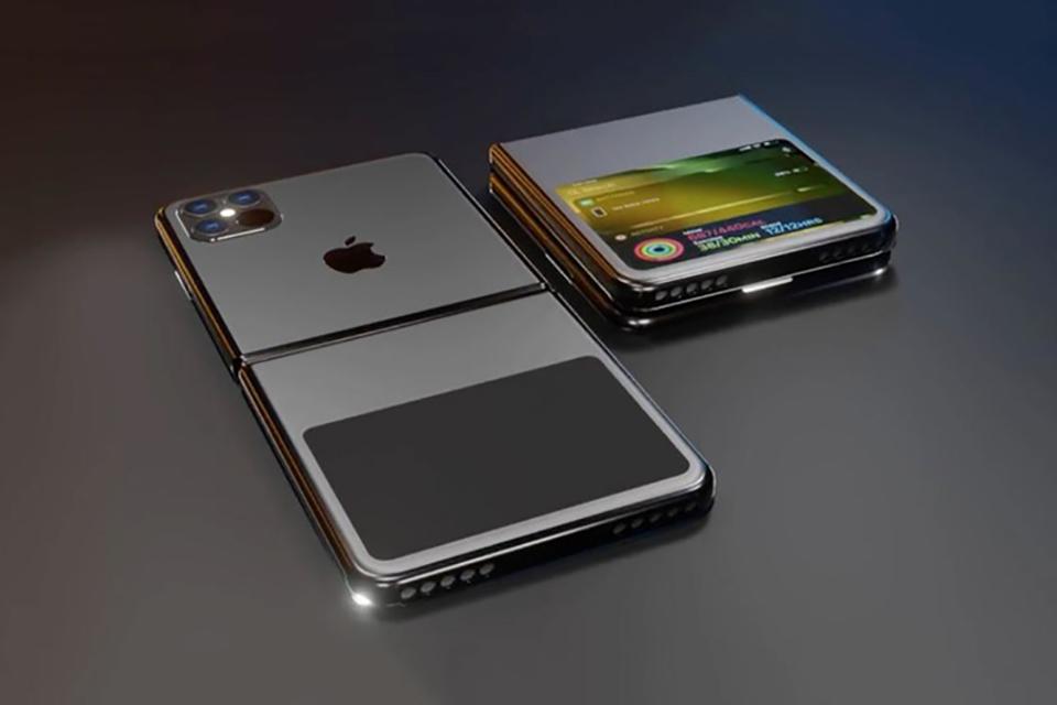Ngắm iPhone 12 Flip màn hình gập xuất sắc, đẹp không tỳ vết 2