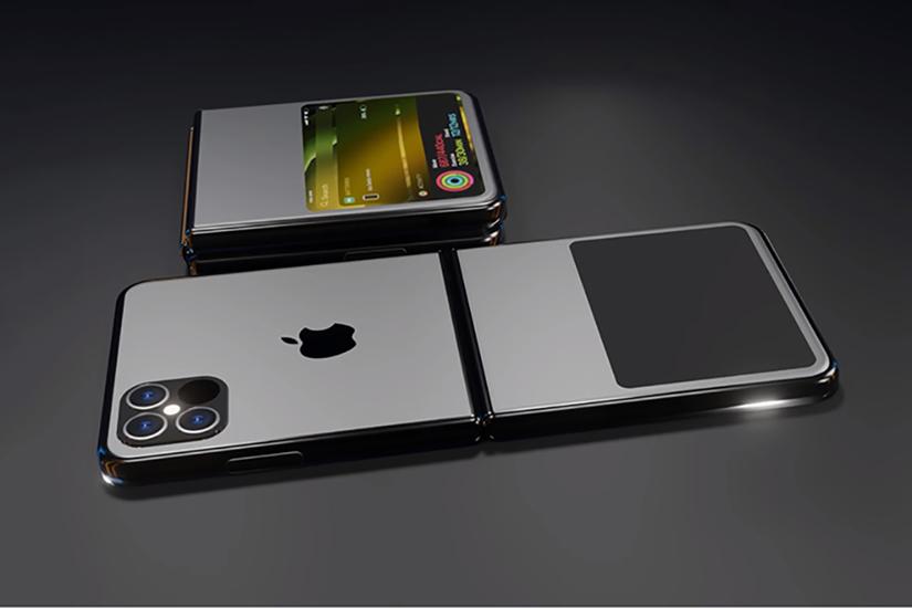 Ngắm iPhone 12 Flip màn hình gập xuất sắc, đẹp không tỳ vết 1