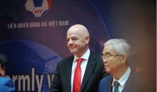Chủ tịch FIFA gửi thư chúc mừng Bóng đá Việt Nam