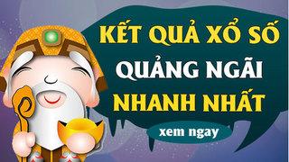 XSQNG 16/5 - Kết quả xổ số Quảng Ngãi hôm nay thứ 7 ngày 16/5/2020