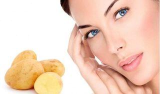 Đánh bay thâm quầng mắt bằng khoai tây cực đơn giản
