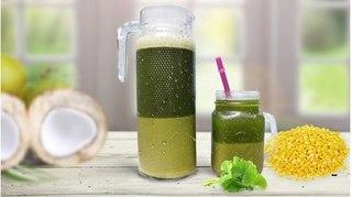 Cách làm sinh tố đậu xanh rau má thơm ngon bổ dưỡng