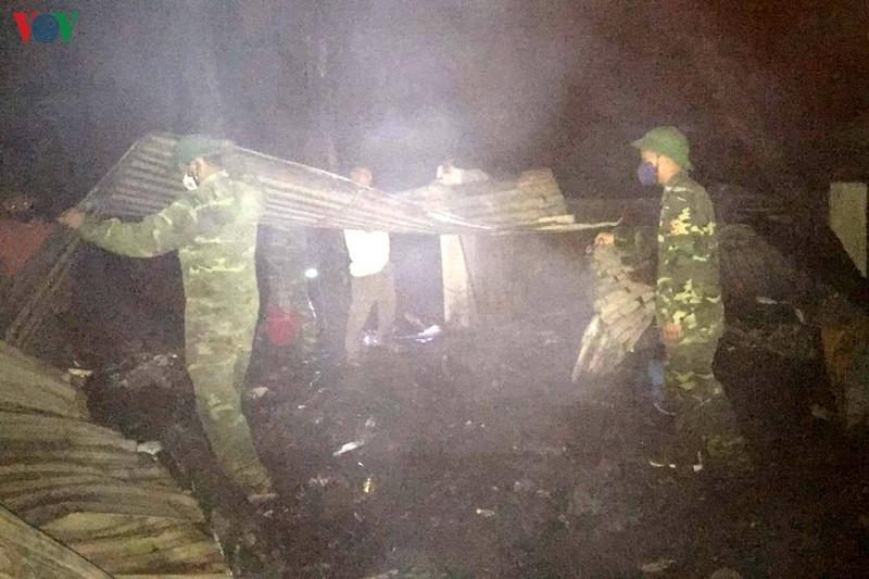 Hỏa hoạn thiêu rụi 3 căn nhà ở Lai Châu, thiệt hại trên 1 tỷ đồng