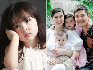 Mới 5 tuổi, con gái 'mỹ nhân đẹp nhất Philippines' đã kiếm tiền giỏi hơn mẹ