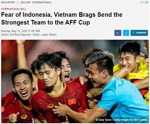 Việt Nam gửi đội mạnh nhất tham dự AFF Cup 2020
