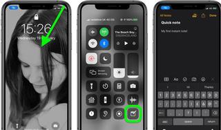 Hướng dẫn tạo ghi chú ngay trên màn hình khóa của iPhone và iPad