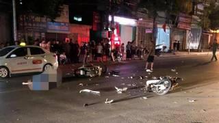 Sơn La: Xe máy đấu đầu kinh hoàng trong đêm, 3 người thương vong