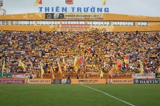 Nếu đón khán giả, sân Thiên Trường có thể thu 1 tỷ tiền vé trận HAGL-Nam Định