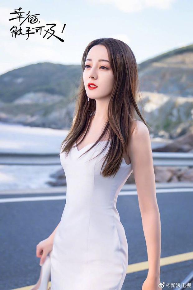 Tạo hình quyến rũ của Địch Lệ Nhiệt Ba trong phim mới gây sốt Weibo