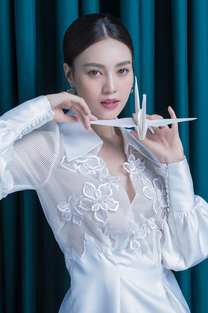 Ninh Dương Lan Ngọc hoá nàng thơ kiều diễm