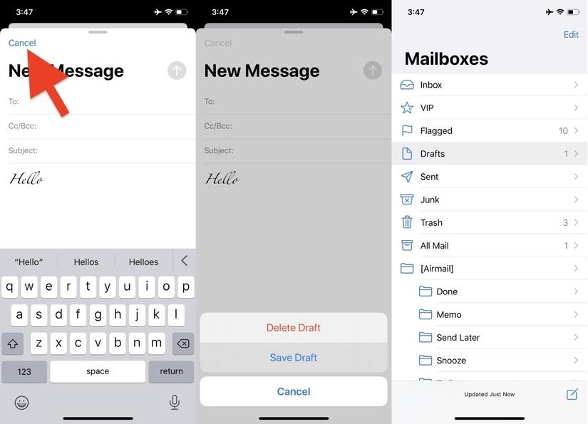 Hướng dẫn khôi phục phông chữ mặc định khi soạn email trên iOS 13
