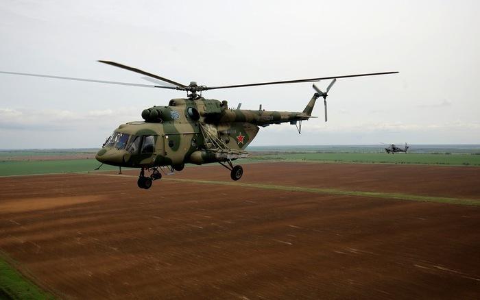 Rơi trực thăng quân sự Nga, cả phi hành đoàn tử nạn