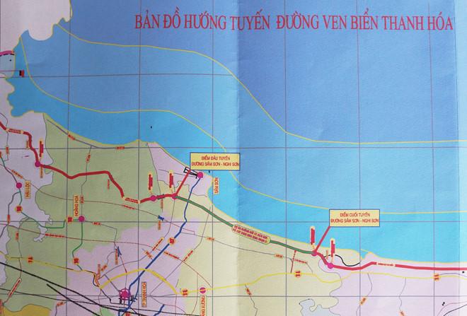 Thanh Hóa xây dựng 2 đoạn đường bộ ven biển