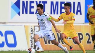 Đội hình tối ưu của HAGL trước Nam Định khi thiếu Văn Toàn?