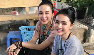 Chị em Angela Phương Trinh - Phương Trang mở tiệm cơm chay