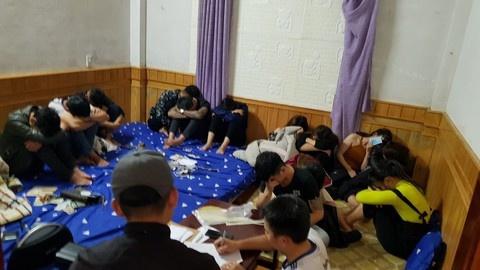 21 dân chơi thuê biệt thử để mở tiệc 'bay lắc' ma túy