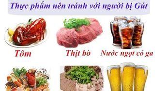 Người bị bệnh gút (gout) nên kiêng ăn 13 thực phẩm này
