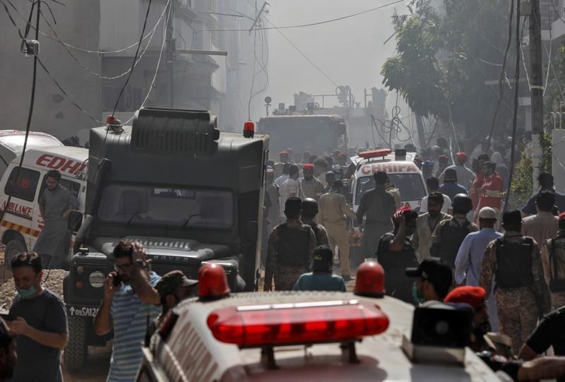 Tin tức thế giới 23/5, ít nhất 80 người đã tử vong trong vụ tai nạn máy bay tại Pakistan