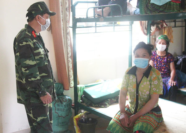 Lào Cai: Thêm 217 công dân hoàn thành cách ly y tế