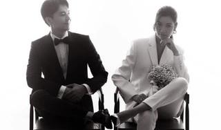 Hé lộ những bức ảnh cưới 'cực ngầu' của Á hậu Thúy Vân