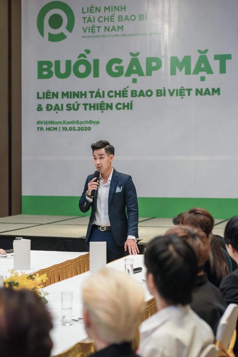 Nguyên Khang làm đại sứ thiện chí chương trình về môi trường