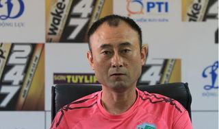 HLV Lee Tae-hoon không nhận trách nhiệm sau trận thua của HAGL trước Nam Định