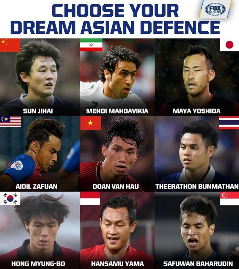 Đoàn Văn Hậu được Fox Sports Asia tôn vinh