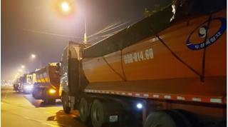 Kiến nghị tịch thu hơn 700 tấn than đá của đoàn 'xe vua'