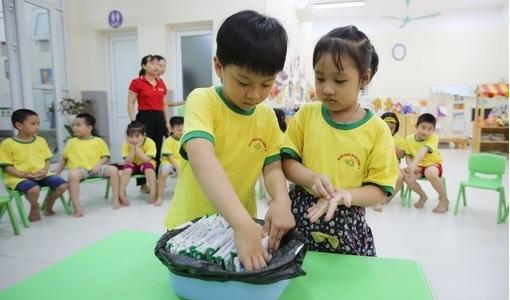 Hơn 1 triệu trẻ em Hà Nội được thụ hưởng Sữa học đường