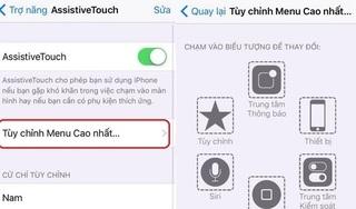 Cách kích hoạt và sử dụng hiệu quả phím home ảo trên iPhone nhanh nhất