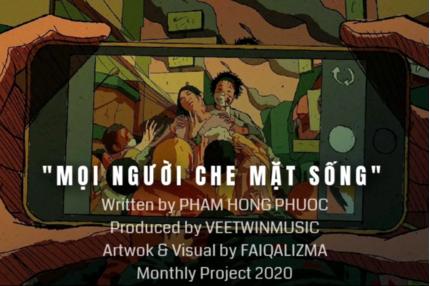 Lời bài hát Mọi Người Che Mặt Sống - Phạm Hồng Phước