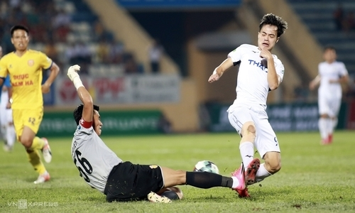 Các cầu thủ HAGL bị ảnh hưởng sau trận thua Nam Định
