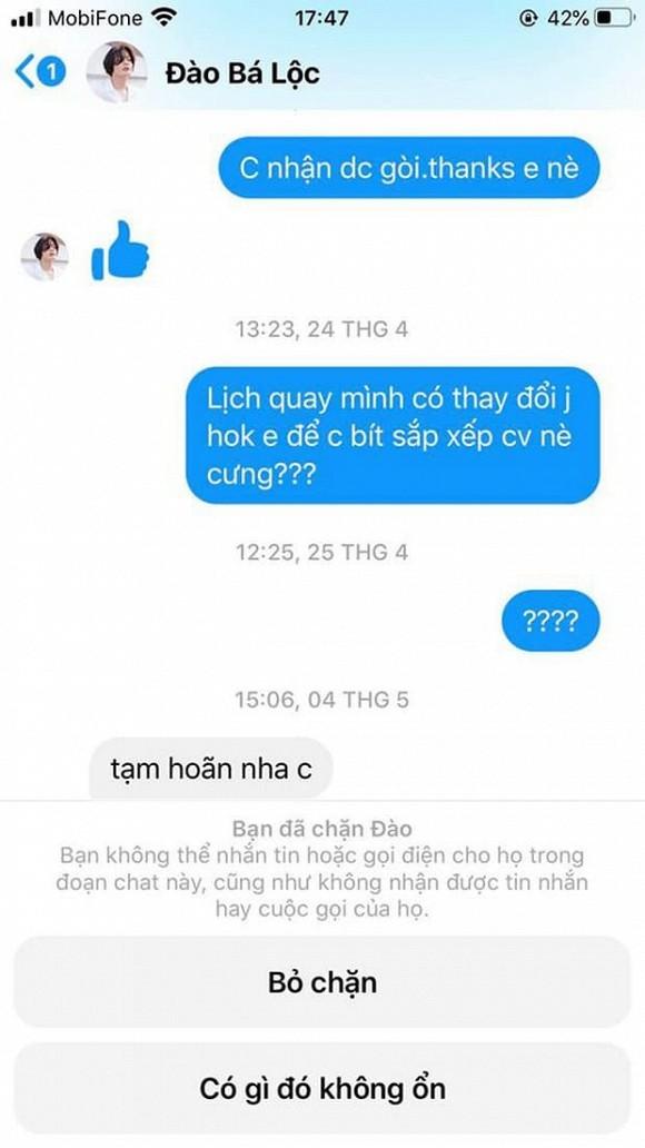 Đào Bá Lộc bị chuyên viên trang điểm 'bóc phốt' thái độ vô trách nhiệm, không tôn trọng người khác