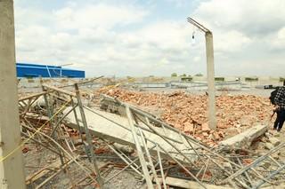 Bắt giam giám đốc công ty thi công công trình sập tường khiến 10 người chết