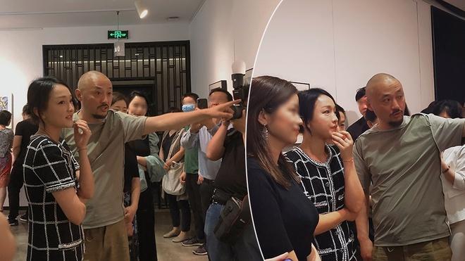 Châu Tấn xuất hiện tại triển lãm tranh bình thản trước tin ly hôn chồng