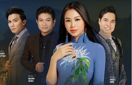Dương Huệ ra mắt album mới song ca cùng Ngọc Sơn, Mạnh Quỳnh, Mạnh Đình