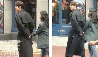 Những khoảnh khắc 'tình bể bình' của Lee Min Ho và Kim Go Eun trên phim trường 'Quân vương bất diệt'