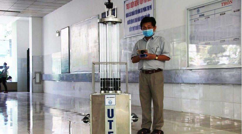 Tin tức trong ngày 26/5, chế tạo thành công Robot diệt khuẩn tia cực tím trong bệnh viện