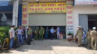 Đột kích cơ sở kinh doanh gỗ nội thất, bên trong chứa gần 100 người cai nghiện chui