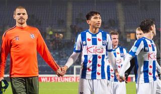 Tổng giám đốc SC Heerenveen hài lòng với Đoàn Văn Hậu và các đồng đội