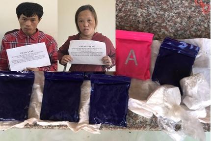 Thanh Hóa bắt giữ cặp 'vợ chồng hờ' mua ma túy về bán kiếm lời