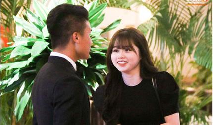 Quang Hải đưa bạn gái Huỳnh Anh tới dự Lễ trao giải Quả bóng Vàng 2019