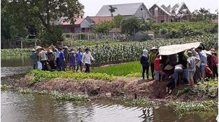 Ninh Bình: Ra sông gần nhà chơi, hai bé không may ngã xuống tử vong