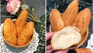 Cách làm bánh mì đơn giản, thơm ngon bằng nồi chiên không dầu