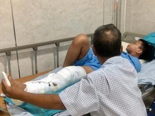 Đã phẫu thuật cho 5 học sinh bị thương nặng trong vụ cây phượng bật gốc