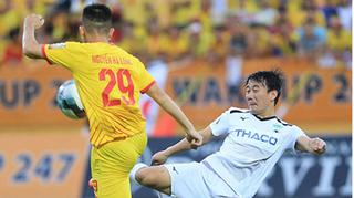 Thống kê về vòng 1/16 Cúp quốc gia: Trận HAGL- Nam Định gây ấn tượng mạnh