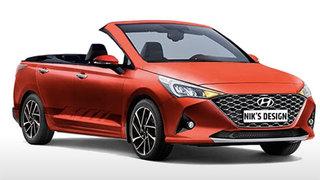 Bất ngờ với hình ảnh Hyundai Accent 2020 phiên bản mui trần giá rẻ