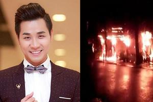 Nghệ sĩ Việt an ủi MC Nguyên Khang sau vụ cháy nhà hàng ở Phú Quốc