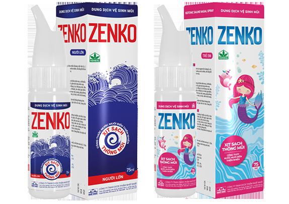 trẻ bị sổ mũi lâu ngày nhớ mua Zenko